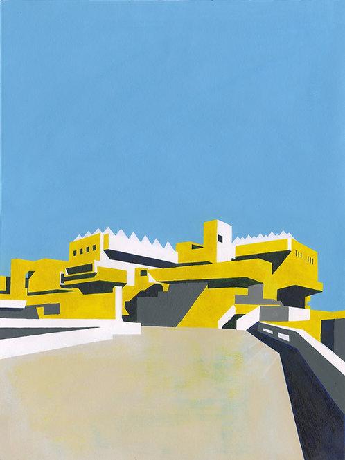 'Hayward Gallery' Limited Edition Giclee Print 43cm x 57cm