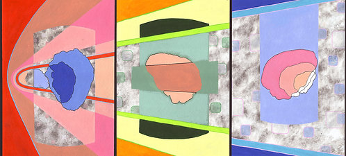 'Time' Limited Edition Giclee Print 90cm x 40.5cm