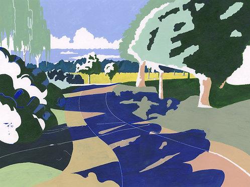 'Dulwich Park' Limited Edition Giclee Print 43cm x 57cm