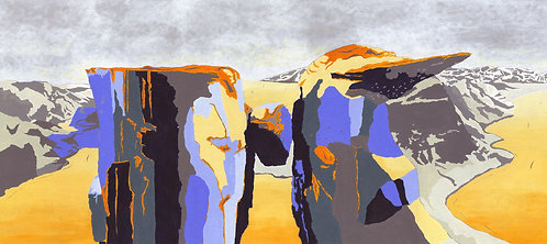 'Norway' Limited Edition Giclee Print 90cm x 40cm
