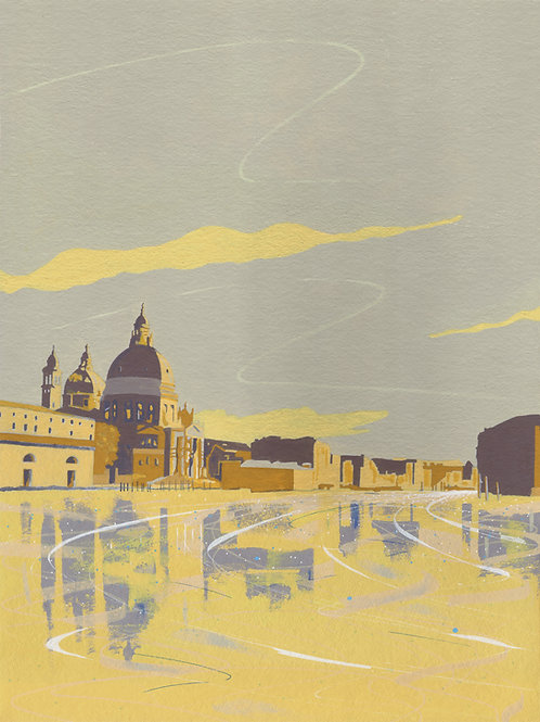 'Grand Canal, Venice' Limited Edition Giclee Print 30cm x 40cm