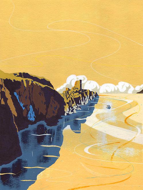 'Cape Clear, Ireland' Limited Edition Giclee Print 30cm x 40cm