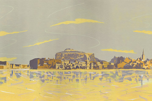 'The Adriatic' Limited Edition Giclee Print 90cm x 40cm