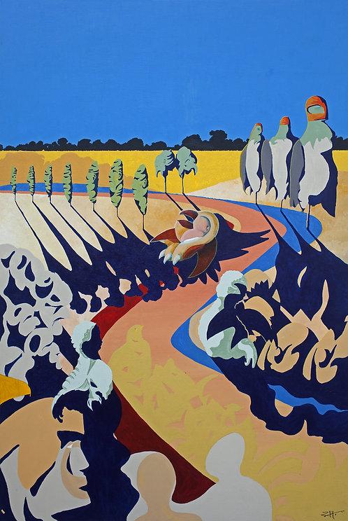 'Prairie Dog' Limited Edition Giclee Print 43cm x 57cm