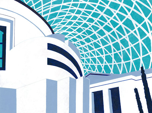 'British Museum' Limited Edition Giclee Print 30cm x 40cm