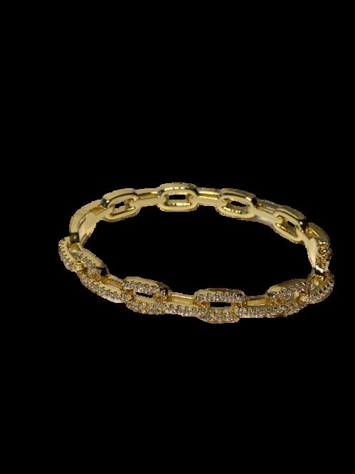 Pave Chain Bangle