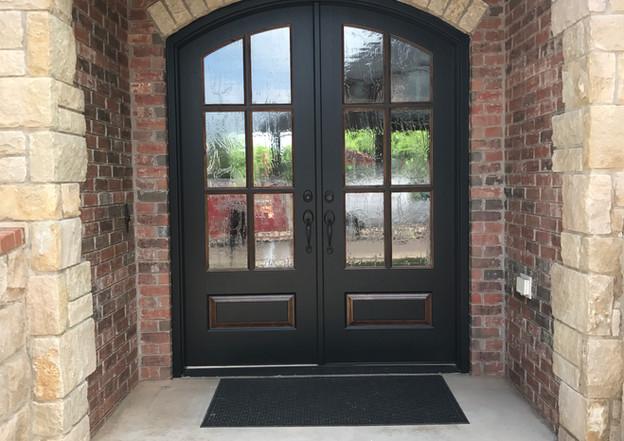 Iron Horse Door