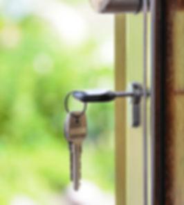 clé de porte