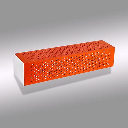 Оранжевый уличный настенный светодиодный светильник Matrix OW-370