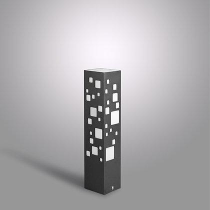 Темно-серый уличный светильник Tower GC-370 c LED лампой 10Вт