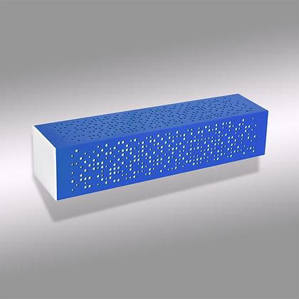 Синий уличный настенный светодиодный светильник Matrix BW-370