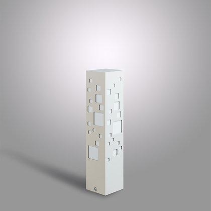 Светло-серый уличный светильник Tower BC-370 c LED лампой 10 Вт