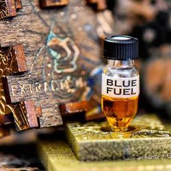 Blue Fuel HTFSE in a vial.. Just demandi