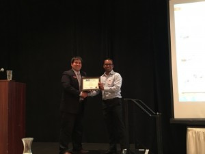 2nd place Karim Zahidul Kansas State University