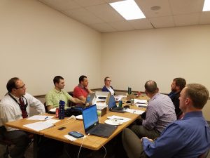 2018-2019 Board of Directors kicking off their monthly meetings this afternoon in Lenexa!