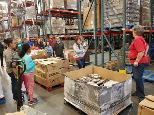 KC ASCE and SWE Team up for 3rd Straight Year giving back with Harvesters