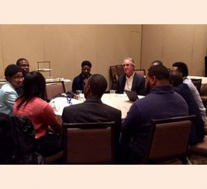 ASCE's Roundtable Discussion during National Society of Black Engineers Convention in Kansas C