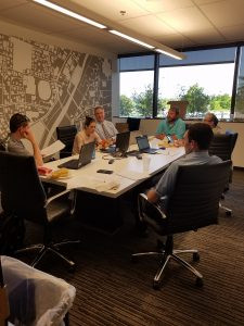 2017-2018 ASCE Board of Directors Meet at Black & Veatch in Overland Park