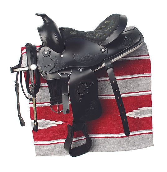 Windsor Western Saddle, Bridle And Saddle Pad Set
