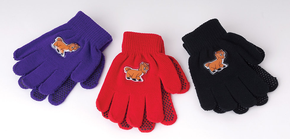 Harlequin Childrens Pony Design Magic Gloves