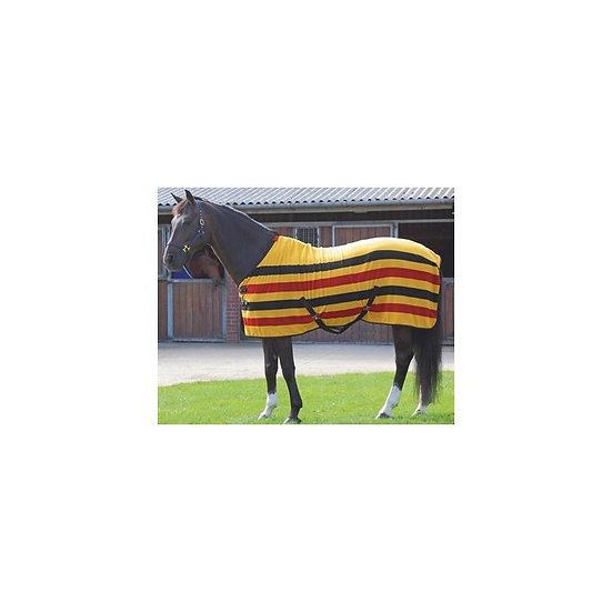 Traditional Newmarket Stripe Fleece Rugs