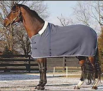 Gray-Warm-280g-Horse-Fleece-Rug-SMR3182-