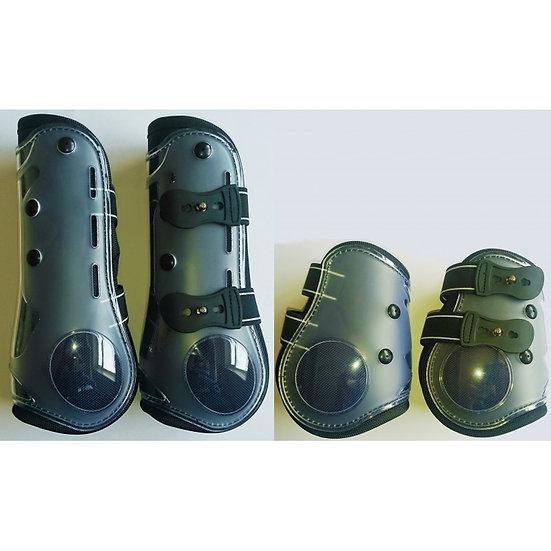 Sheldon Elite Fetlock & Tendon Boots Set (Shell)