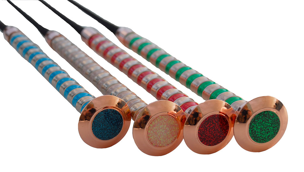 Rhinegold Metallic Handle Schooling Whip