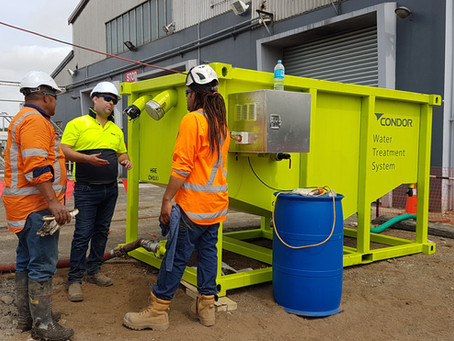 New Water Treatment System for Kiwi Rail Hamilton project