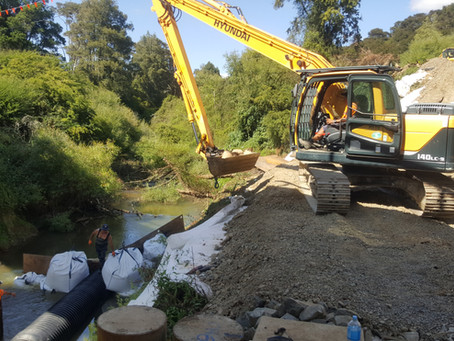 Fulton Hogan Te Pahu Road Project