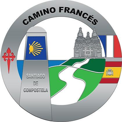 Camino Francés Medal