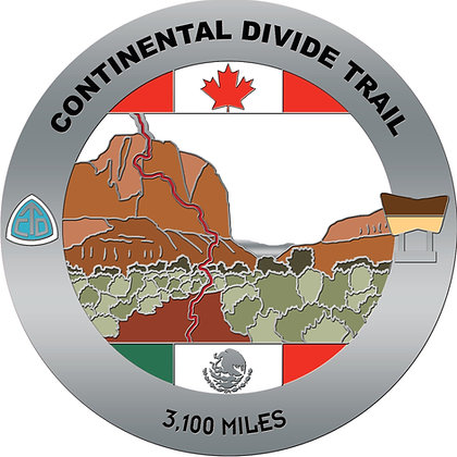 Continental Divide Trail Medal