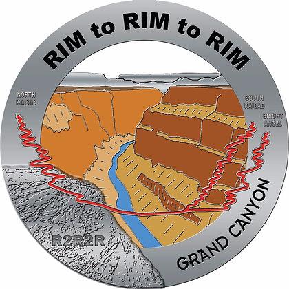 Rim to Rim to Rim Medal