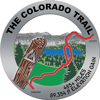 The Colorado Trail Medal