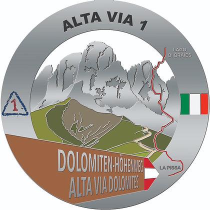 Alta Via 1 Medal