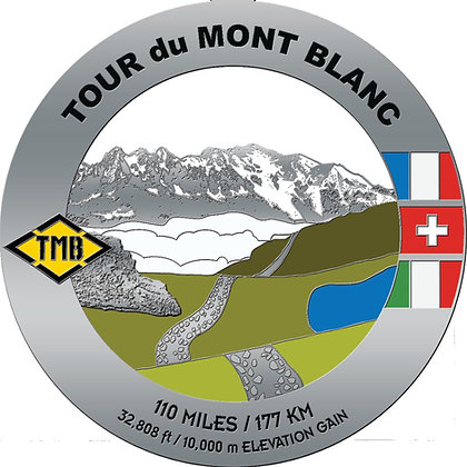Tour du Mont Blanc Medal
