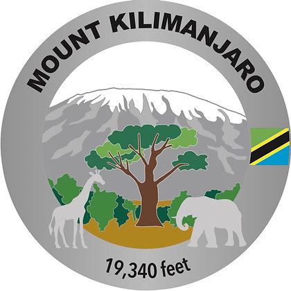 Mount Kilimanjaro Medal (new design)