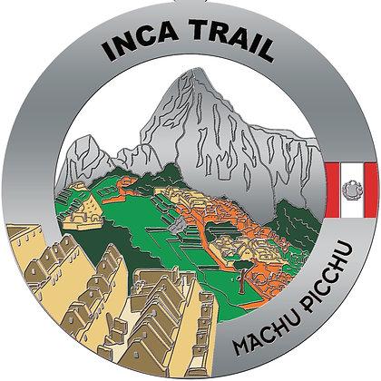 Inca Trail Medal (Machu Picchu)