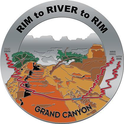 Rim to River to Rim Medal