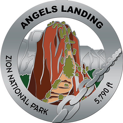 Angels Landing Medal