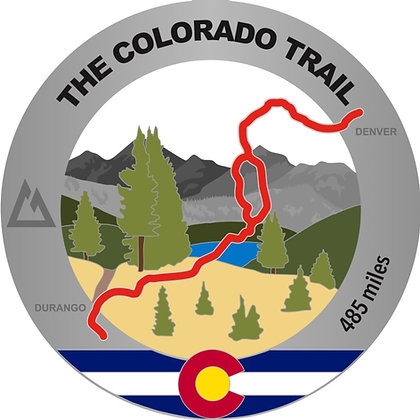 The Colorado Trail Medal