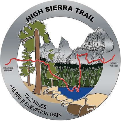 High Sierra Trail Medal