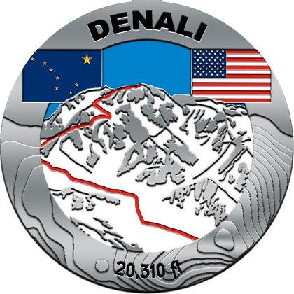 Denali Mountaineering Medal