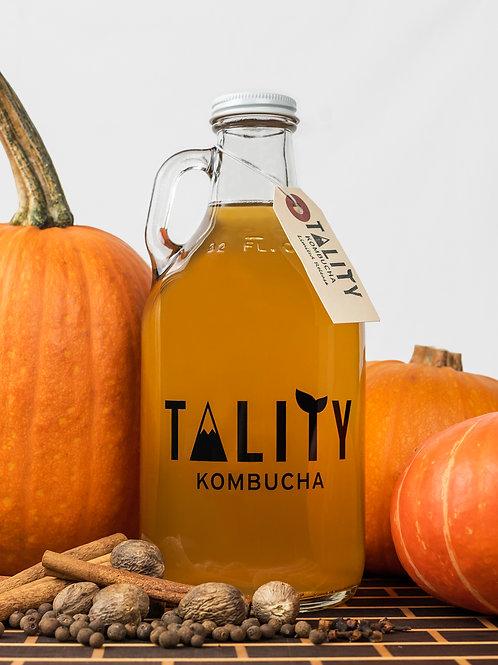 32oz Growler of Pumpkin Spice Kombucha!