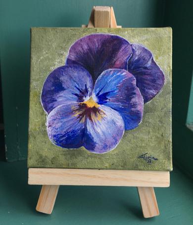 Violet (Acrylic, 2020)