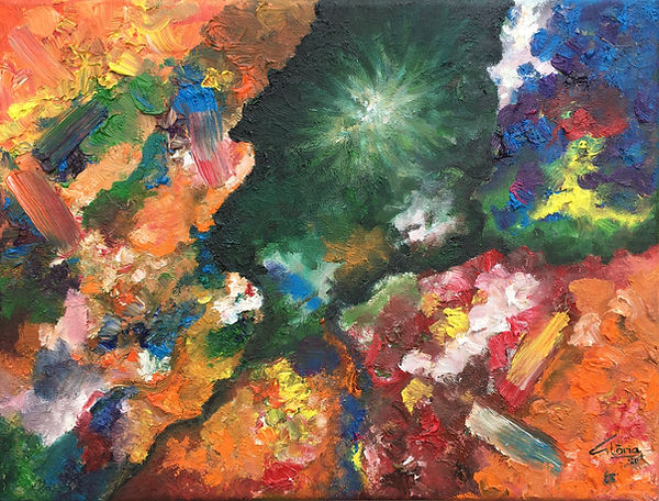 Ligeti & Synesthesia: 1st movement