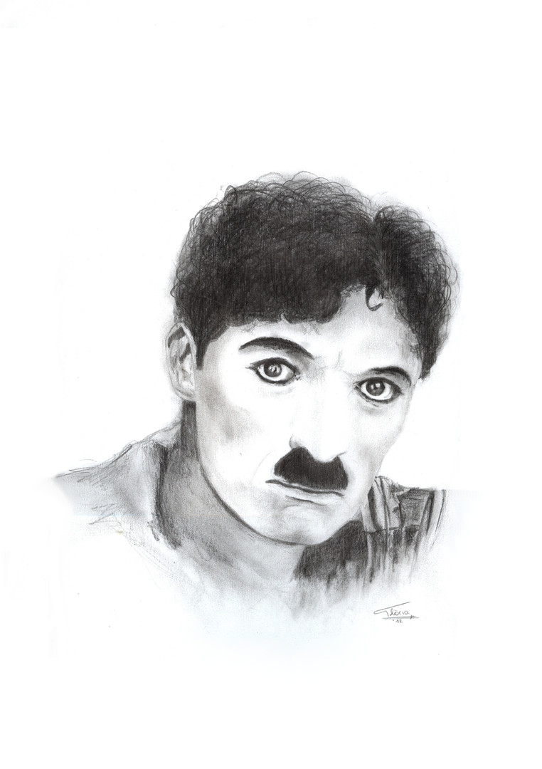 Charles Chaplin (Pencil, 2012)