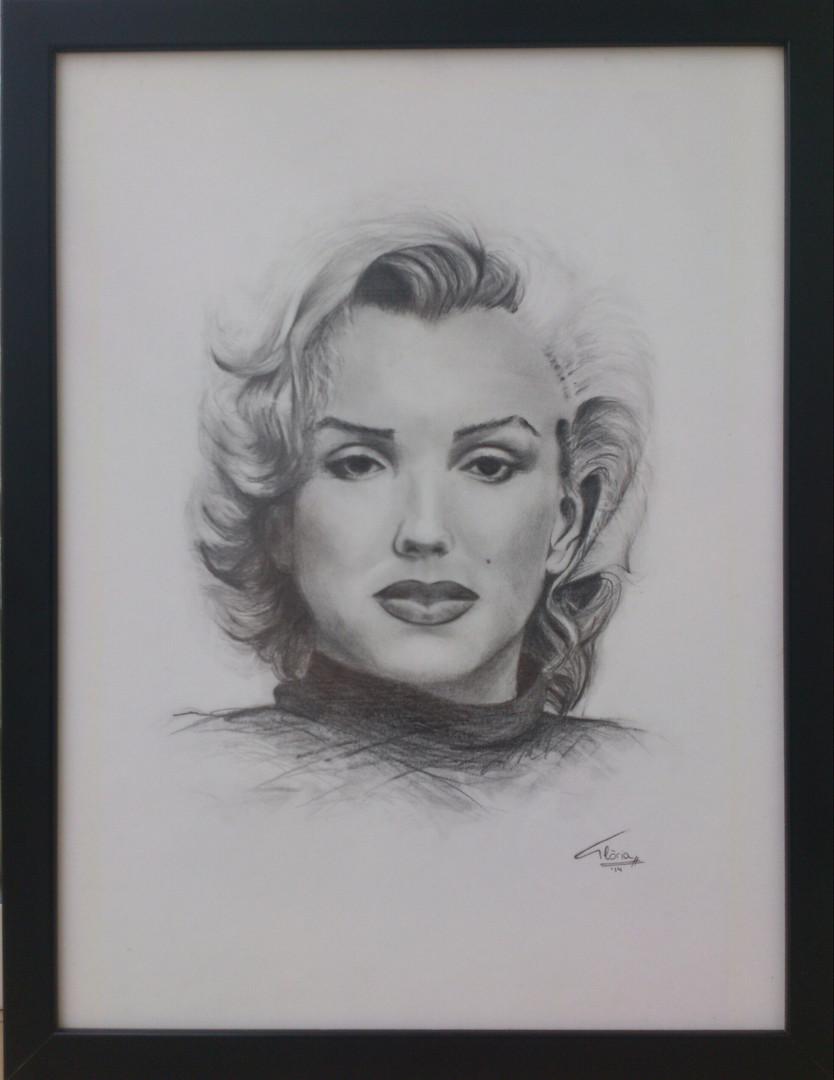 Marilyn Monroe (Pencil, 2014)