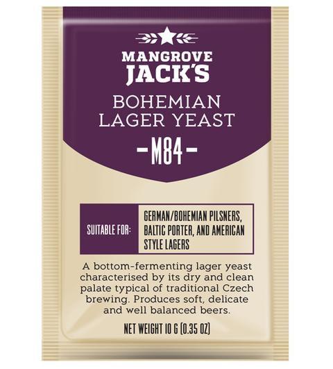M84 Bohemian Lager Yeast Mangrove Jack's 10g
