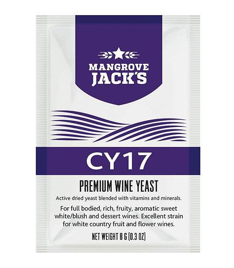 Mangrove Jack's Yeast - CY17 8g